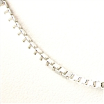 .925 Sterling Silver Chain.