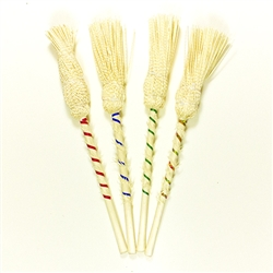 "These are hand made in Poland using 100% natural fibers. Dipped in Holy Water the Kropidlo is used to bless homes at Christmas time, Wedding couples, Easter tables, Etc. The name derives from the Latin verb aspergere, ""to sprinkle""."