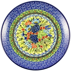 "Stoneware 10.5"" Dinner Plate Signature Series Pattern: U4627 Designed By T. Liana"