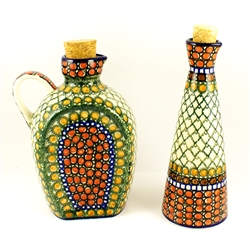 "Designed By Teresa Liana. The artist has been connected with the Artistic Handicraft Cooperative ""Artistic Ceramics and Pottery"" since 1983. Since 1992 she has been a pattern designer. Unikat pattern number U81."