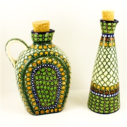 "Designed By Teresa Liana. The artist has been connected with the Artistic Handicraft Cooperative ""Artistic Ceramics and Pottery"" since 1983. Since 1992 she has been a pattern designer. Unikat pattern number U83."