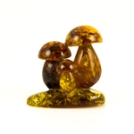 We are aware of only one artist in Poland making these delightful mushrooms from amber. Naturally shaped with pure raw baltic amber.
