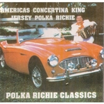 "Included in this album are Richie classics such as his ""opener"", Happy Music Polka, Polish Sausage Polka, and everyone's favorite...Play That Concertina.  As a tribute to the late-great Marisha Data, also known as ""Aggie"", Richie added two of her classics"