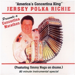 "Concertina Masters, Casey ""Fingers Siewierski and Eddie Zima made their marks on the polka field and are undeniable pioneers in polka history.  As you listen to this Concertina Marathon you will hear why Jersey Polka Richie has earned his title of ""Americ"