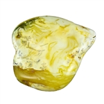 Amber stones can be carried as is for good luck or used to make jewelry. Amber is always warm to the touch and very light.