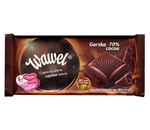 At Wawel, our tradition of chocolate making dates back through generations.  Delicious Polish dark chocolate.