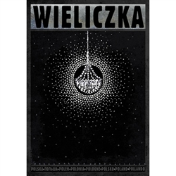 Polish poster designed by artist Ryszard Kaja to promote tourism to Poland.