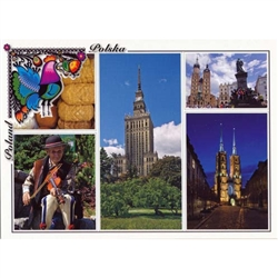 Polish full color glossy post cards are perfect for those school heritage projects.