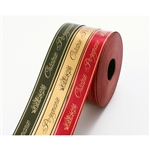 Polish funeral ribbon for floral arrangements, patriotic displays, etc. Polypropylene waterproof ribbon is perfect for both indoor and outdoor use. Made In Poland. 100 meter roll. Only one color available at this time. - Ecru