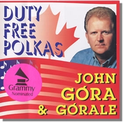 "In this long awaited new release, ""DUTY FREE POLKAS"" by John Góra and Górale, we are again pleasantly entertained with the crisp yet smooth instrumentation stylings of the Górale. Add to this John's, Rick's and Tommy's superb English and Polish vocals on"