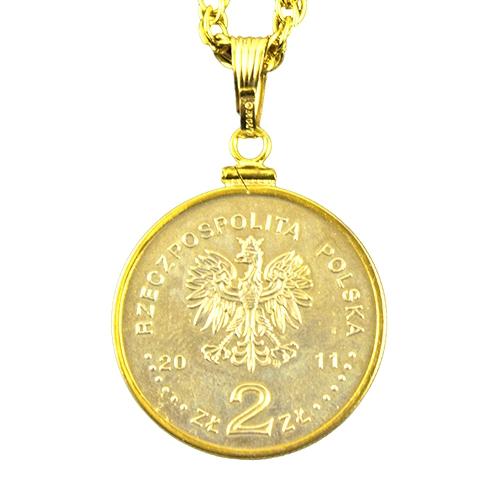 COMMEMORATIVE COIN OF POLAND MINT BEATIFICATION OF POPE JOHN PAUL II