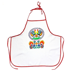 If you are a fan of Polish paper cuts you'll love this apron.