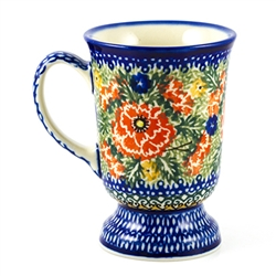 "Designed and signed by master artist Teresa Andrukiewicz The artist has been connected with the Artistic Handicraft Cooperative ""Artistic Ceramics and Pottery"" since 1996. Since 2001 she has been a pattern designer. Unikat pattern number U1758."