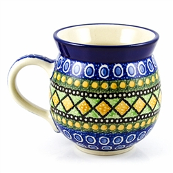 "Pattern designed by master artist Maria Starzyk . The artist has been connected with Handicraft Cooperative ""Artistic Ceramics and Pottery"" since 1995, whereas since 1997 she has been a pattern designer. Unikat pattern number U323."