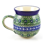 "Pattern designed by Maria Iwicka. The artist has been connected with the Artistic Handicraft Cooperative ""Artistic Ceramics and Pottery"" since 1981. Since 1993 she has been a pattern designer.  Signature series U114."