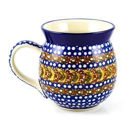 "Pattern designed by Anna Pasierbiewicz. The artist has been connected with the Artistic Handicraft Cooperative ""Artistic Ceramics and Pottery"" since 1970. Since 1992 she has been a pattern designer.  Unikat Pattern: U159."