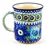 "Pattern designed Maria Iwicka. The artist has been connected with the Artistic Handicraft Cooperative ""Artistic Ceramics and Pottery"" since 1981. A pattern designer since 1993. Unikat pattern number U586."