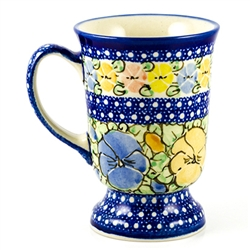 "Pattern designed by master artist Maria Starzyk . The artist has been connected with Handicraft Cooperative ""Artistic Ceramics and Pottery"" since 1995, whereas since 1997 she has been a pattern designer. Unikat pattern number U417."