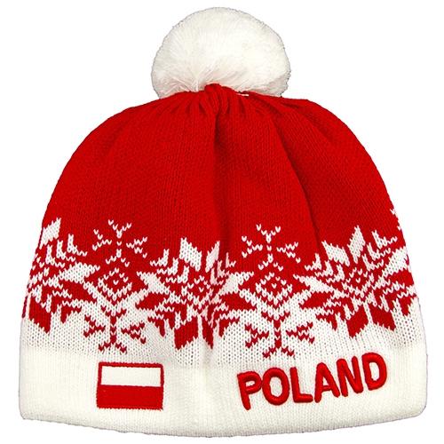 Polish Art Center - Poland Winter Cap Red - Czapka Zimowa 666c27482d1