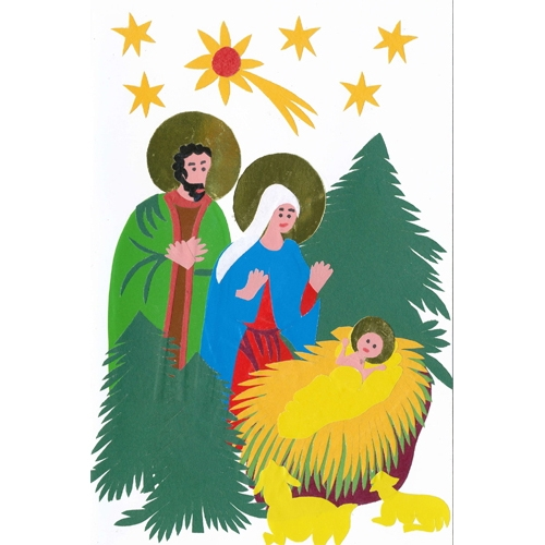 holy christmas cards