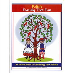 A fun work book for children with games, projects, pictures, puzzles and graphs all designed to introduce your Polish heritage to the next generation.