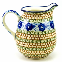 "Pattern designed by Anna Pasierbiewicz. The artist has been connected with the Artistic Handicraft Cooperative ""Artistic Ceramics and Pottery"" since 1970. Since 1992 she has been a pattern designer."