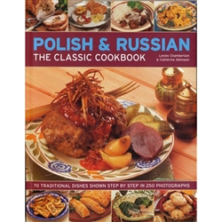 A concisely written introductory cookbook with well designed color photos. Contains (70) traditional step-by-step dishes from Eastern Europe.  Profusely illustrated, with over 250 photographs.  Every recipe is tested and adapted to suit the modern kitchen