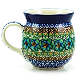 "Pattern designed by master artist Maria Iwicka. The artist has been connected with the Artistic Handicraft Cooperative ""Artistic Ceramics and Pottery"" since 1981. A pattern designer since 1993. Unikat pattern number U151"