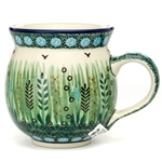 "Designed by master artist. Krystyna Dacyszyn The artist has been connected with the Artistic Handicraft Cooperative ""Artistic Ceramics and Pottery"" since 1990. A pattern designer since 2002.  Unikat pattern U4636."