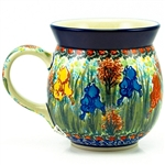 "Designed and signed by Lucyna Lenkiewicz. The artist has been connected with the Artistic Handicraft Cooperative ""Artistic Ceramics and Pottery"" since 1998. Since 2002 she has been a pattern designer. Signature Series Pattern: U4157"