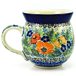 "Pattern Designed By Maria Starzyk The artist has been connected with the Artistic Handicraft Cooperative ""Artistic Ceramics and Pottery"" since 1997. Since 2003 she has been a pattern designer. Signature Unikat pattern number U4018"