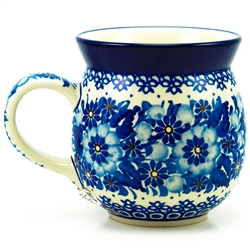 "Designed and signed by master artist Krystyna Deptula. The artist has been connected with the Artistic Handicraft Cooperative ""Artistic Ceramics and Pottery"" since 1991. Since 1997 she has been a pattern designer. Unikat pattern number U234"