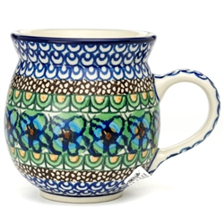 "Pattern designed by Maria Iwicka. The artist has been connected with the Artistic Handicraft Cooperative ""Artistic Ceramics and Pottery"" since 1981. Since 1993 she has been a pattern designer.  Signature series U151."