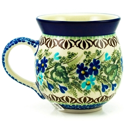 "Designed by master artist Zofia Spychalska. The artist has been connected with the Artistic Handicraft Cooperative ""Artistic Ceramics and Pottery"" since 1989. Since 1997 she has been a pattern designer. Unikat pattern number U2957."