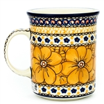 "Pattern designed by master artist Jacek Chyla. The artist has been connected with the Artistic Handicraft Cooperative ""Artistic Ceramics and Pottery"" since 1986. Since 1994 he has been a pattern designer. Unikat pattern number U408B."
