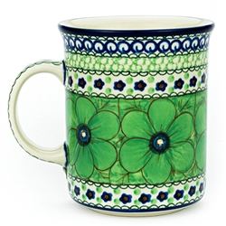 "Pattern designed by master artist Jacek Chyla. The artist has been connected with the Artistic Handicraft Cooperative ""Artistic Ceramics and Pottery"" since 1986. Since 1994 he has been a pattern designer. Unikat pattern number U408A."