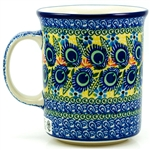 "Pattern designed and signed by Karolina Sliwinska. The artist has been connected with the Artistic Handicraft Cooperative ""Artistic Ceramics and Pottery"" from 2004. Since 2005 she has been a pattern designer. Unikat pattern 2317."