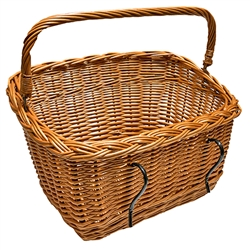 Vintage style, handmade of natural wicker, great for your