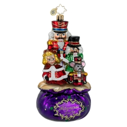 The Christopher Radko Complete Suite ornament is part of the 2015 Nutcrackers Collection