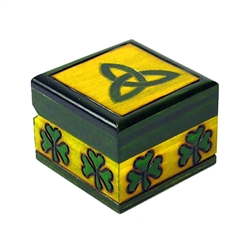 This beautiful miniature box is made of seasoned Linden wood, from the Tatra Mountain region of Poland.