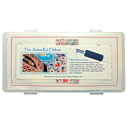 Electric Kistka Artist Kit with Storage Box. Made for 110 volt electrical environments (NA, Japan, Brazil and others). This Kit provides the Artist everything needed to use our Electric Kistka -- Hot Wax Pen. The kit includes: 1 Multi-Tip Interchangeable