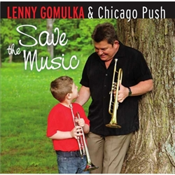 Lenny Gomulka at age 5 took an immediate interest in polka music. He especially liked the drums which he self-taught himself in spare time. His formal training began at age 11 when inspired by his mother to take trumpet instruction. Before organizing his