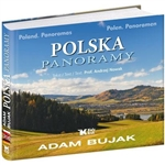 A panoramic view of Poland in photographs taken by Adam Bujak, Poland's renowned photographer.  Includes country and city scenes.  Text in Polish, English and German.
