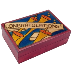 Perfect gift box for graduations, promotions and other achievements.