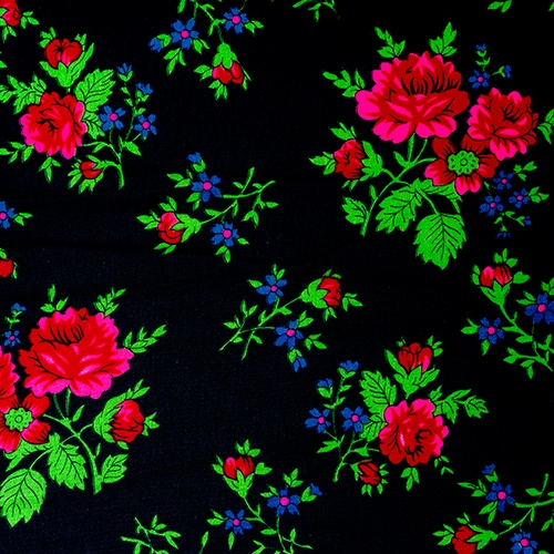"Flowered Material 60"" Wide ""Tybet"