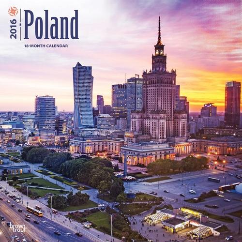 Poland 2017: Poland 2016 Wall Calendar