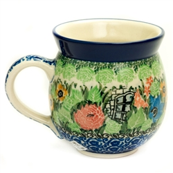 "Pattern Designed By Maria Starzyk The artist has been connected with the Artistic Handicraft Cooperative ""Artistic Ceramics and Pottery"" since 1997. Since 2003 she has been a pattern designer. Signature Unikat pattern number U4016."