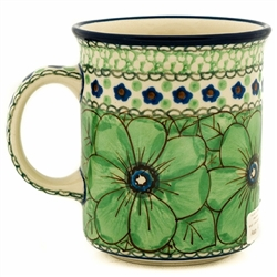 "A beautiful design by master artist Jacek Chyla! Hand made in Poland. The artist has been connected with the Artistic Handicraft Cooperative ""Artistic Ceramics and Pottery"" since 1986. Since 1994 he has been a pattern designer. Unikat pattern U408A."