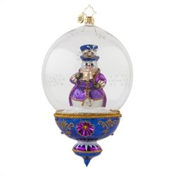 Exquisite workmanship and handcrafted details are the hallmark of all Christopher Radko creations. Bring warmth, color and sparkle into your home as you celebrate life's heartfelt connections. A Christopher Radko ornament is a work of heart!