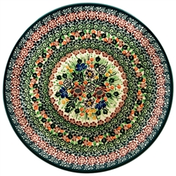 "Pattern designed by master artist Maria Starzyk. The artist has been connected with Handicraft Cooperative ""Artistic Ceramics and Pottery"" since 1995, whereas since 1997 she has been a pattern designer. Unikat pattern number U4418."